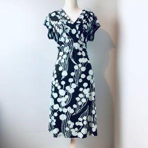 Mossimo printed wrap dress Plus size 16W 18W